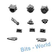 WARHAMMER 40K BITS: TAU BROADSIDE BATTLESUIT - HEADS 3x