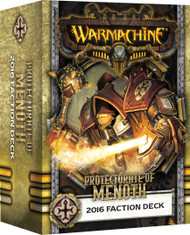 Warmachine: Protectorate of Menoth - 2016 Faction Deck