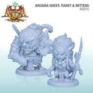 Cool Mini or Not: Arcadia Quest: Tiaret and Mittens