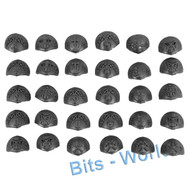 WARHAMMER BITS - DWARFS HAMMERERS/LONGBEARDS - SHOULDER PADS 30x