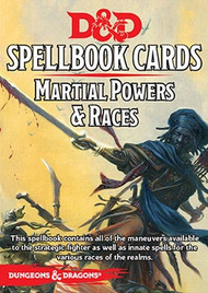 Dungeons & Dragons: 5th Edition Martial Powers and Races Deck (40 cards)