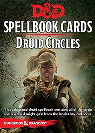 Dungeons & Dragons: 5th Edition Druid Circles Deck (21 cards)