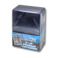 """Ultra PRO: 3"""" x 4"""" Super Clear Premium Toploader (25)"""