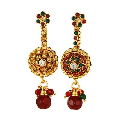 1 Gram Gold RasRawa Earrings