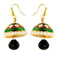 1 Gram Gold Enamel Earrings 12
