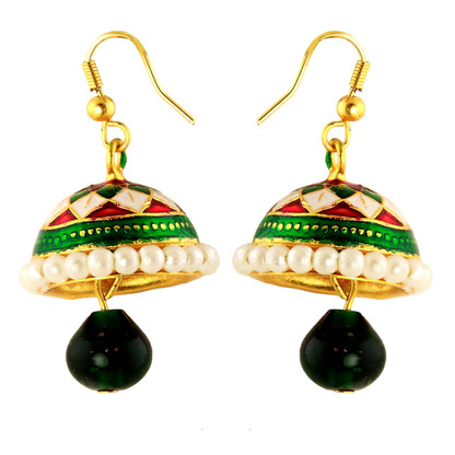 1 Gram Gold Enamel Earrings 12