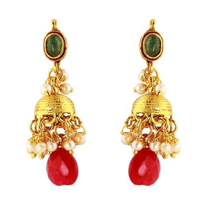 1 Gram Gold RasRawa Earrings 14