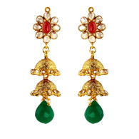 1 Gram Gold RasRawa Earrings 20