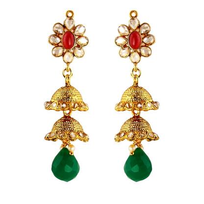 1 Gram Gold RasRawa Earrings 20