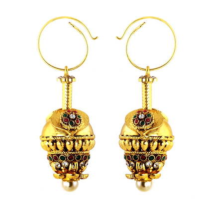 1 Gram Gold RasRawa Earrings 28