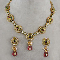 1 Gram Gold Victorian Necklace Set 6