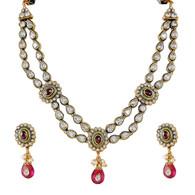 1 Gram Gold Victorian Necklace Set 7