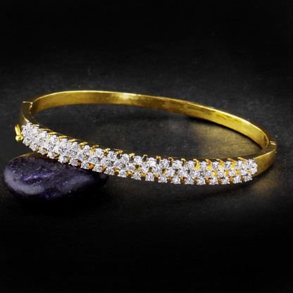 1 Gram Gold American Diamond Bracelet 1