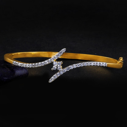 1 Gram Gold American Diamond Bracelet 2