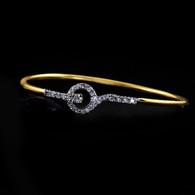 1 Gram Gold American Diamond Bracelet 5
