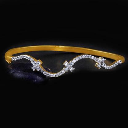1 Gram Gold American Diamond Bracelet 6