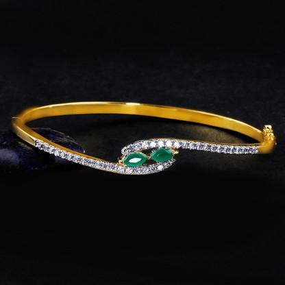 1 Gram Gold American Diamond Bracelet 7