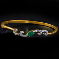 1 Gram Gold American Diamond Bracelet 11