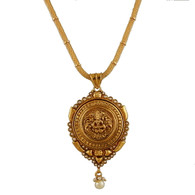 1 Gram Gold Temple Necklace 2