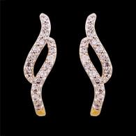1 Gram GoldAmerican Diamond Earrings 58