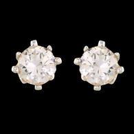1 Gram Gold American Diamond Earrings 65