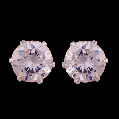 1 Gram Gold American Diamond Earrings 67