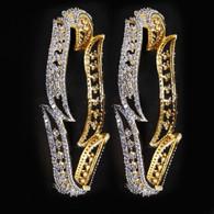 1 Gram Gold  American Diamond Bangles 49