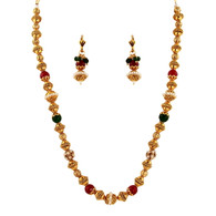 1 Gram Gold Beads Necklace Set 59