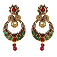 1 Gram Gold Ras Rawa Earrings