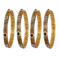 1 Gram Gold RasRawa Bangles 18
