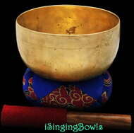 """Antique Tibetan Singing Bowl #8316 : Thado 6 3/8"""" Diameter, circa 17th Century, C3 & F5."""