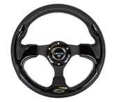 NRG 320mm Sport Steering Wheel w/ Black Trim (ST-001BK)