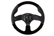 NRG 320mm Sport Leather/Suede Steering Wheel (ST-012RS)