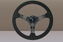 Nardi Deep Corn 330mm Leather Polished Spoke - 6069.33.3093