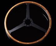Moto-Lita Aston Martin OEM - Wood Rim Classic Replacement Steering Wheel