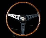 Moto-Lita Jaguar XKE Type - Custom (Wood Rim Mk 3) Classic Replacement Steering Wheel