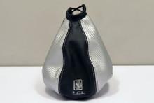 Nardi Leather Gaiter Black / Silver (3600.13.0000)