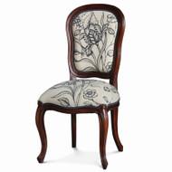 Antoinette Dining Chair - Size: 100H x 48W x 56D (cm)
