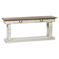 Bella House Chateau Large Console Table - A/Cream