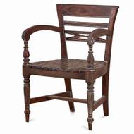 English Garden Seat - Size: 86H x 61W x 53D (cm)