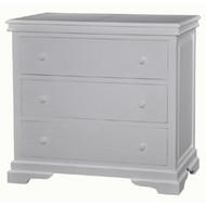 Homestead Large 3 Drawer Dresser - Size: 98H x 107W x 56D (cm)