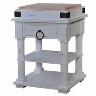 Cortland Kitchen Island on Coasters - Size: 90H x 70W x 60D (cm)