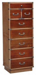 Artisan Tall Cabinet - Size: 131H x 50W x 40D (cm)