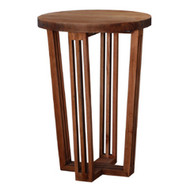 Reuben Tall Side Table  - Size: 71H x 50W x 50D (cm)