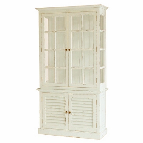 2 door cottage cabinet with glass size 210h x 114w x for Lawton architectural products