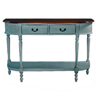 Tucker Oval Sofa Table Large - Size: 85H x 130W x 41D (cm)