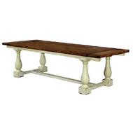 Hemmingway Dining Table 240cm - Size: 76H x 244W x 120D (cm)