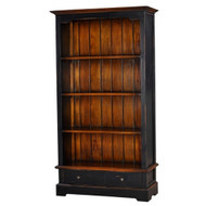 Manchester 2 Drawer Bookcase - Size: 181H x 98W x 34D (cm)