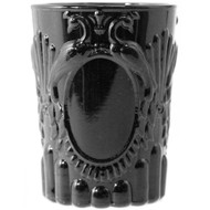 Verona Glass Tumbler 250ml - Set of 6 - Black