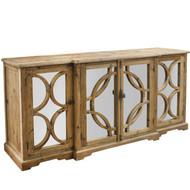 Deco Sideboard - Reclaimed Pine - Size: 91H x 200W x 51D (cm)